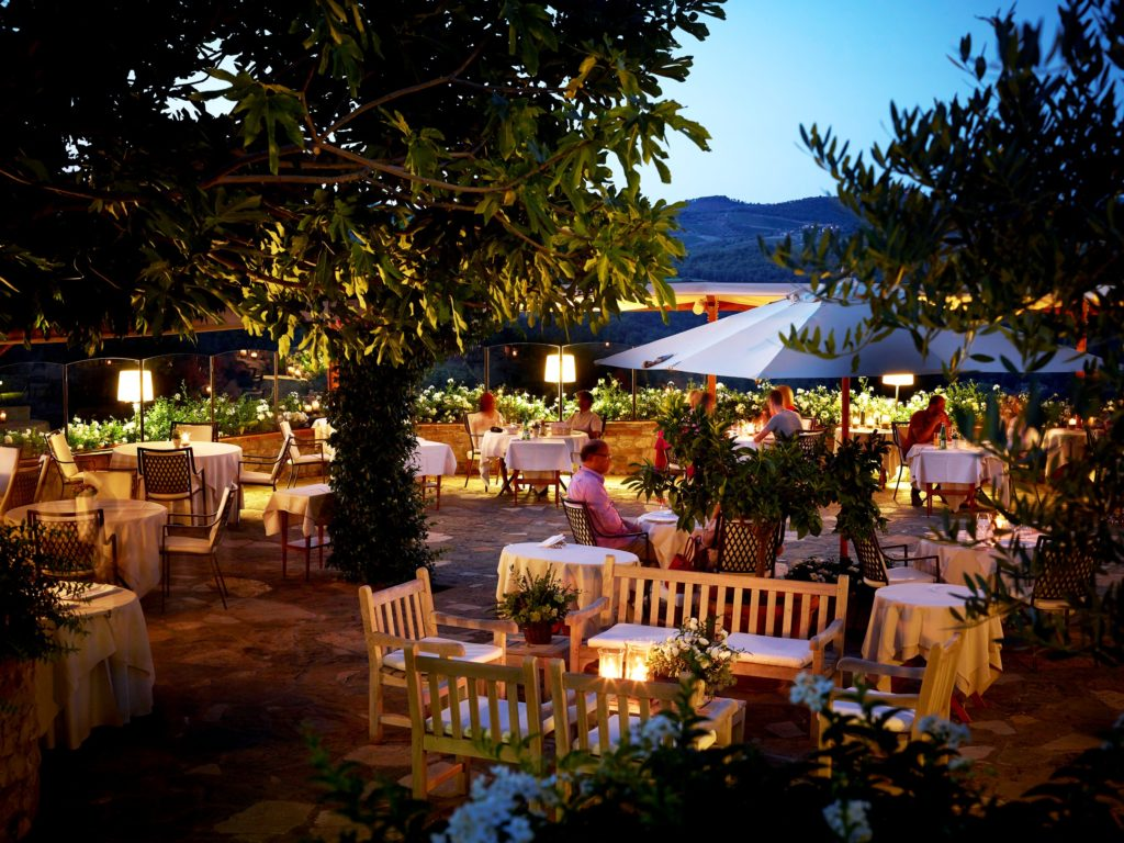 La Colonna Restaurant Italy Tuscan Cuisine Terrace Garden The Best Way To Explore History Of A Region Is Through Its Hotel Le