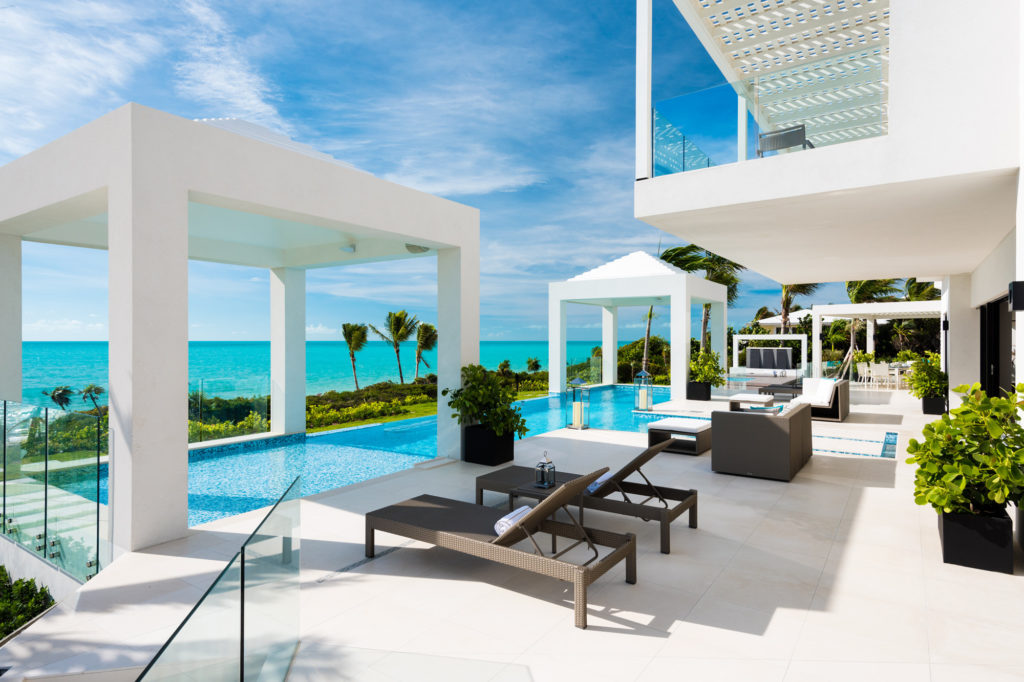 turks and caicos newest luxury villa rental casalio